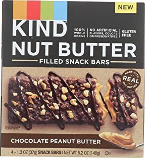 product image for KIND Chocolate Peanut Butter Nut Butter Filled bar, 5.2 Oz (Pack of 4)