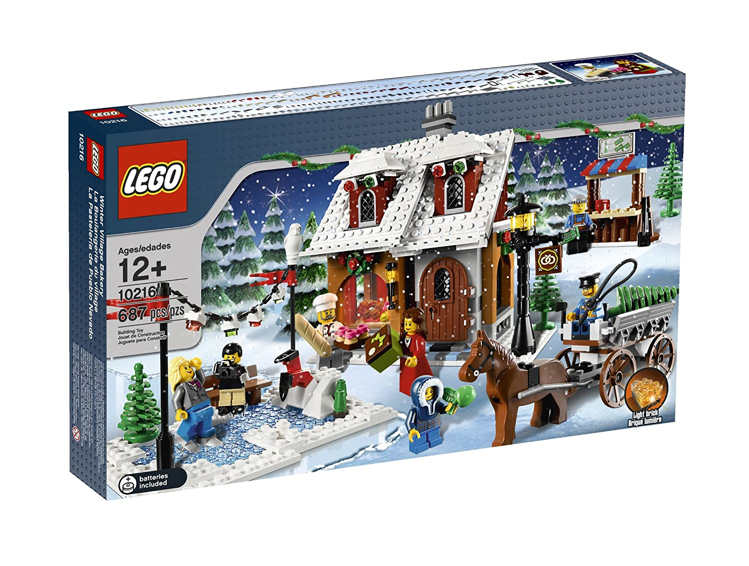 amazoncom lego creator holiday bakery 10216 toys games