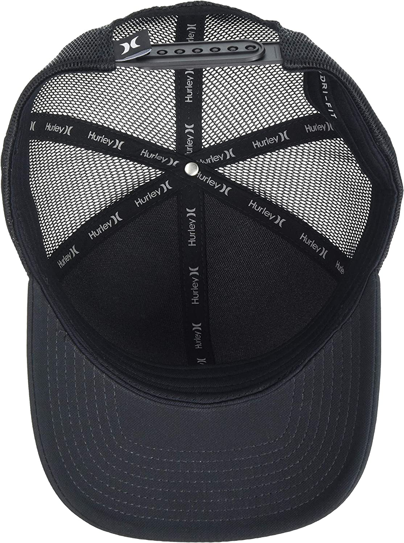 Hurley Men's League Dri-Fit Snapback Baseball Cap, Black, One Size: Clothing