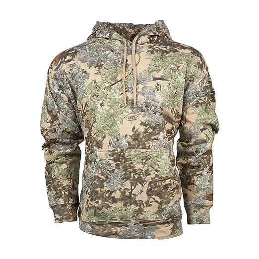 eb9ad6100dbcd Amazon.com : King's Camo Cotton Hunting Hoodie : Clothing