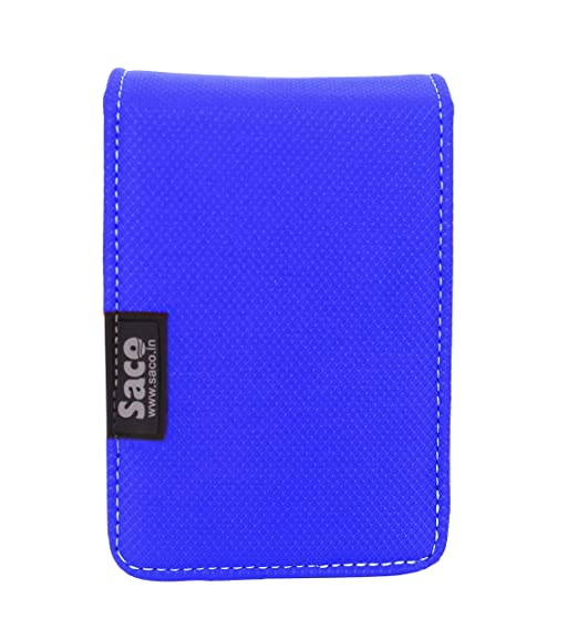 Saco Dual Hard Disk Drive Case Cover Wallet for Hard Disk Drive nbsp;Two Capacity Seagate Backup Plus Slim 1TB Portable External Hard Drive    Blue  H