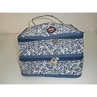 Organizador de costura Azul floral