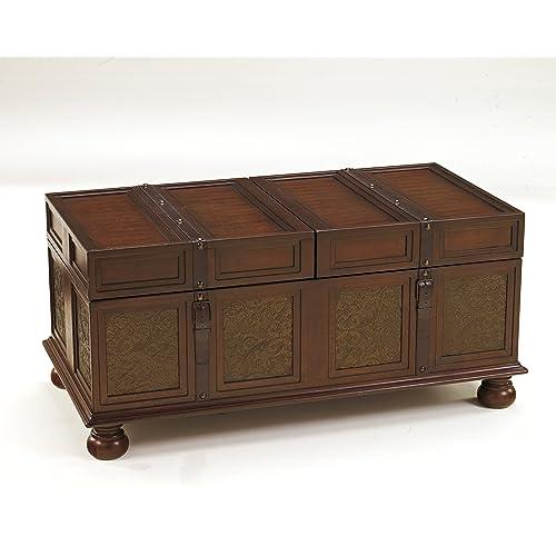 Storage Coffee Table Ashley: Trunk Coffee Tables: Amazon.com