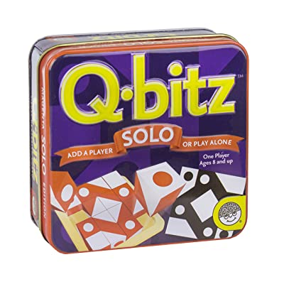 MindWare Q-bitz Solo: Orange Game: Toys & Games