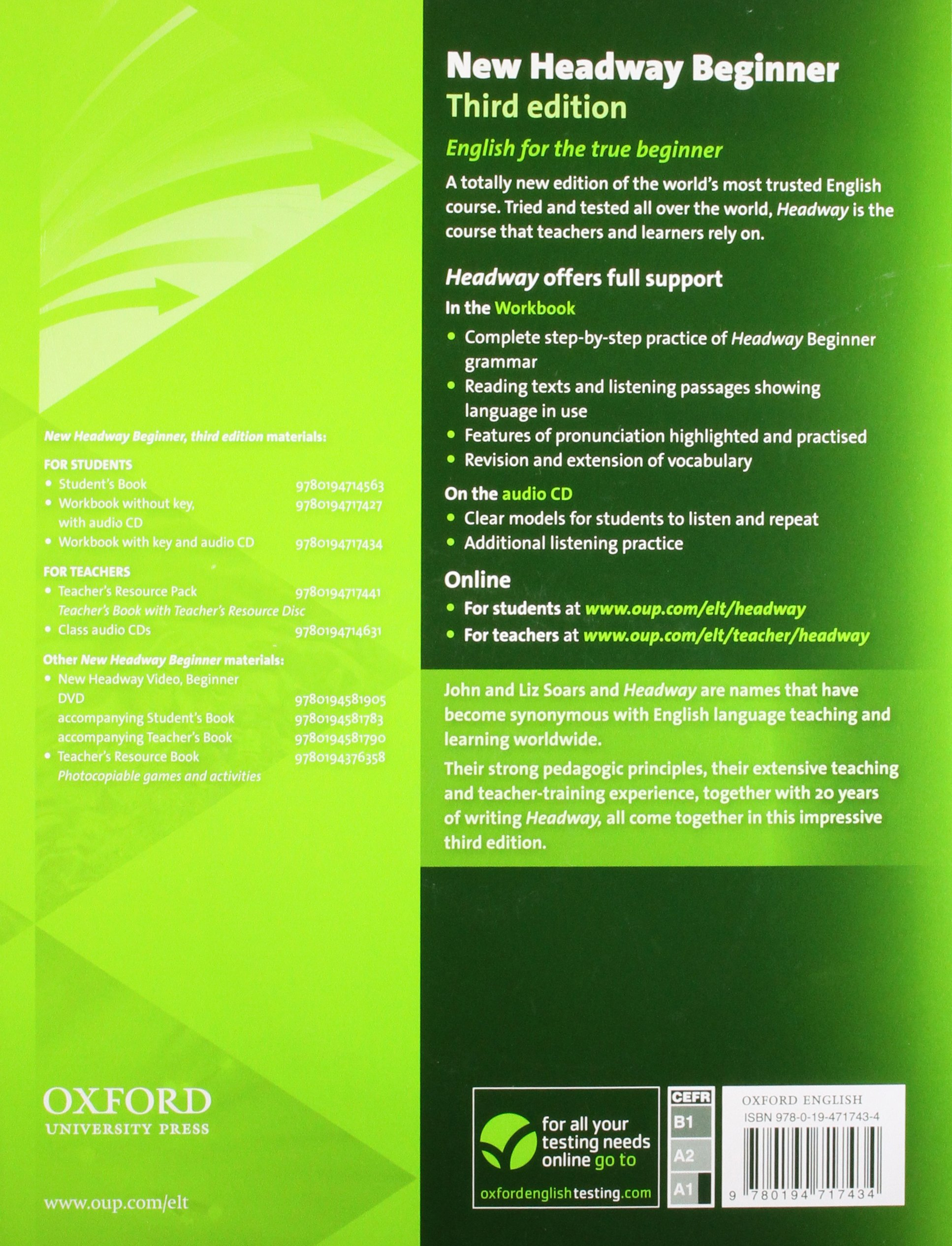 Headway beginner скачать бесплатно pdf vk