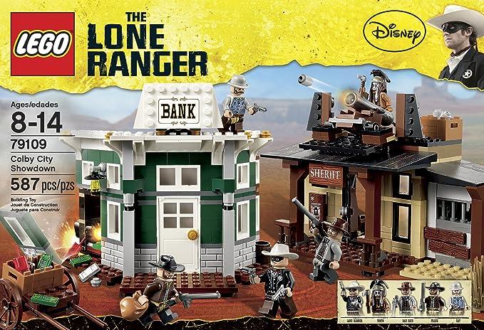 Sheriff Dan Reid Brand New Figure Lego Lone Ranger Pistol from set 79109