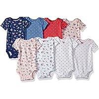 Carter's Baby-Girls 8 Pack Short Sleeve Bodysuits Short Sleeve Bodysuit - Multi