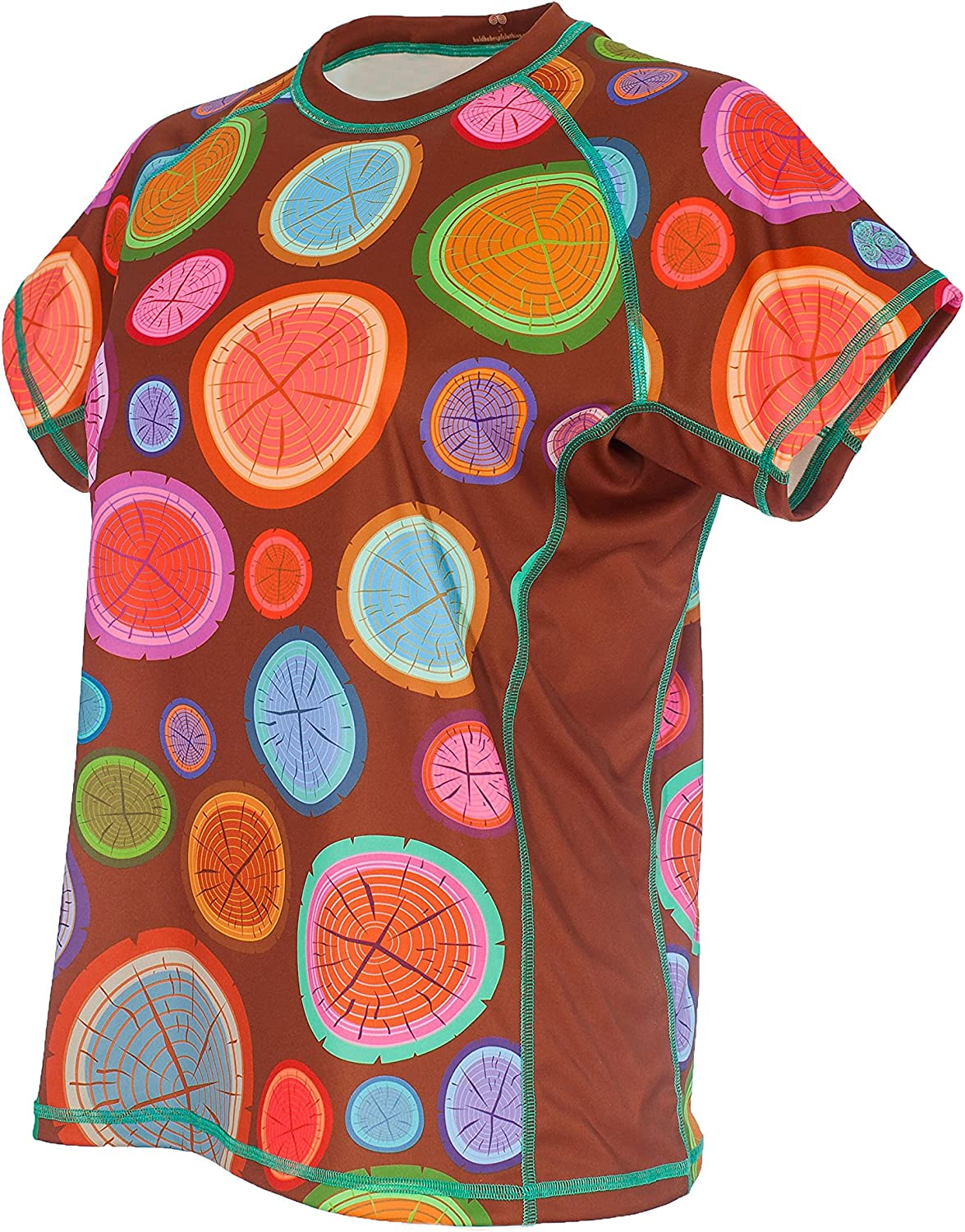 The Wood Pile Bold Babe Womens Sun Protective Short Sleeve Shirt SPF Clothing Perfect for Enjoying The Outdoors