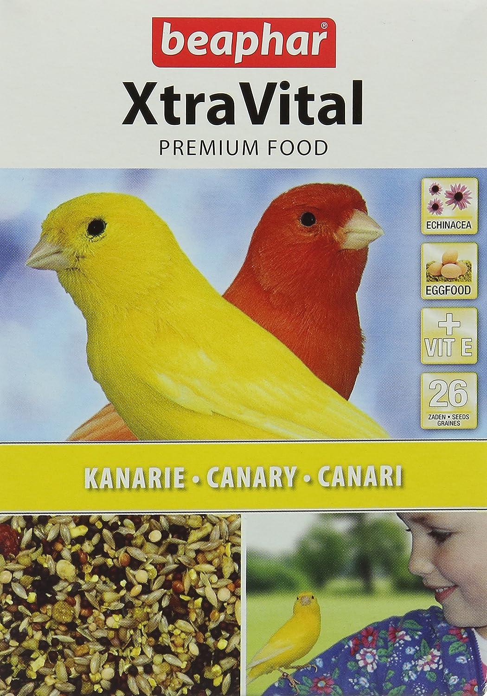 Beaphar XtraVital/Alimentation Premium pour canari 500 g 8711231163069