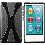 mumbi X-TPU Silikon Hülle iPod Nano 7G Schutzhülle (7. Generation) schwarz