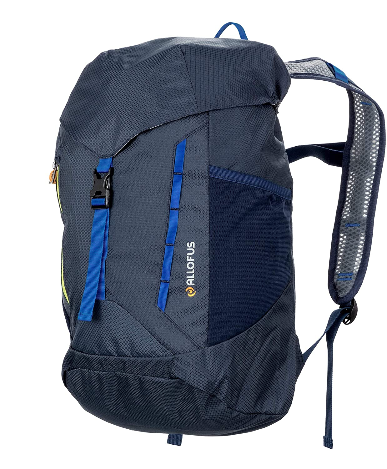 All of Us Packable Lightweight Hydration Ready Daypack Backpack Sport Blue