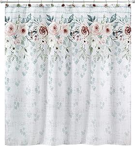 Avanti Linens Spring Garden Collection, Shower Curtain, Multi