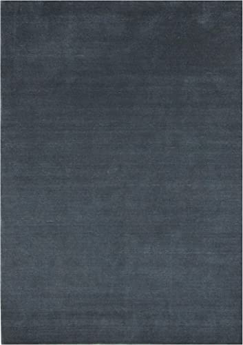 The Midcentury Collection Wool Area Rugs 4 x6 , Navy