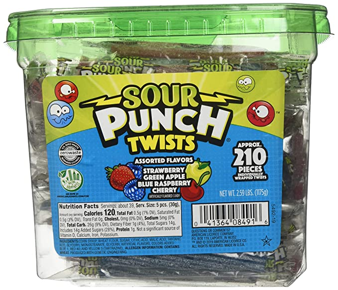 Sour Punch Sour Punch Twists, 3