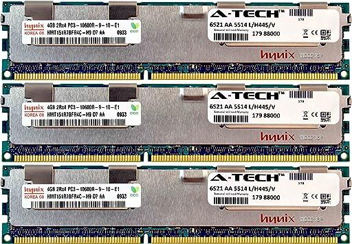 4GB MEMORY FOR HP PROLIANT ML330 G6 ML350 G6 ML370 G6 SL160Z G6 SL165Z G7