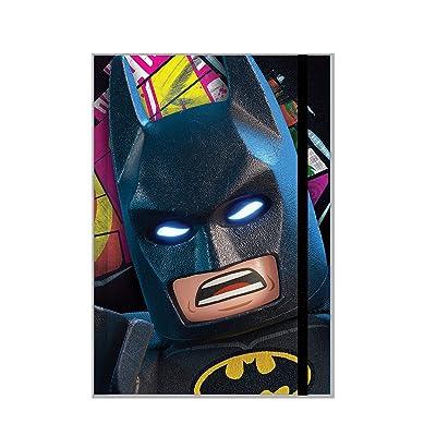 IQ Lego Batman Movie Batman Light Up Journal: Toys & Games