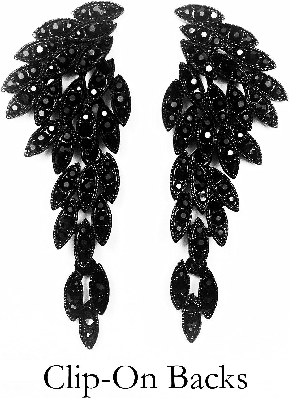 Niumike Mottled Circle Statement Pendant Earrings for Women Girls Bohemian Prom Drop Dangle Earring
