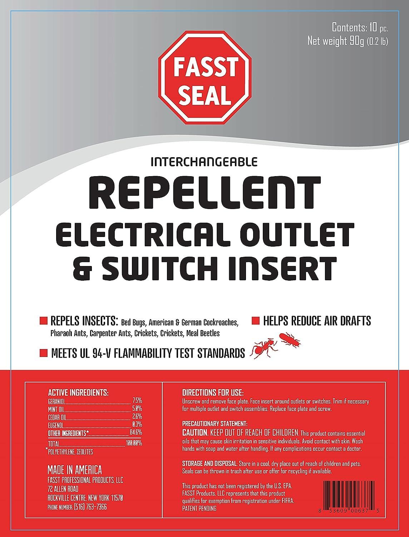 Amazon Com Fasst Seal Interchangeable Repellent Electrical