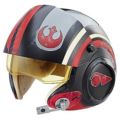 Star Wars The Black Series Poe Dameron Electronic X-Wing Pilot Helmet: Toys & Games
