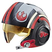 Star Wars The Black Series Poe Dameron X-Wing Pilot Helmet