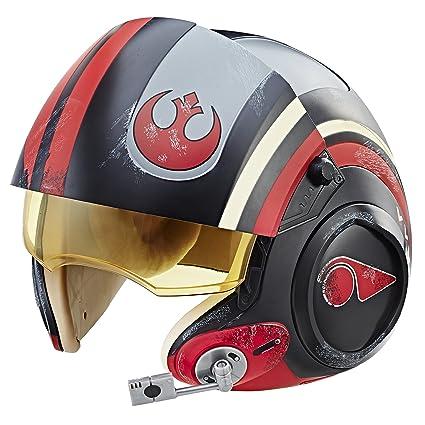 05b977e68d4 Amazon.com  Star Wars The Black Series Poe Dameron Electronic X-Wing ...