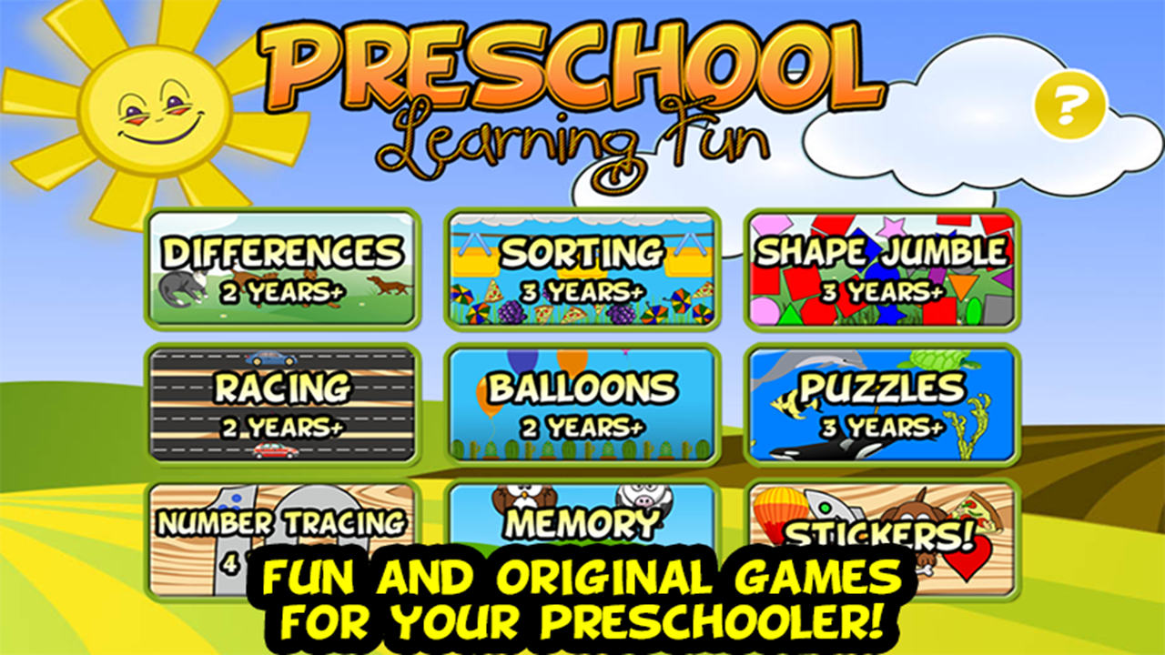 Amazon.com: Preschool Learning Fun: Appstore for Android