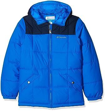 Columbia Gyroslope - Chaqueta con aislamiento para niño, color azul, talla M: Amazon.es: Deportes y aire libre