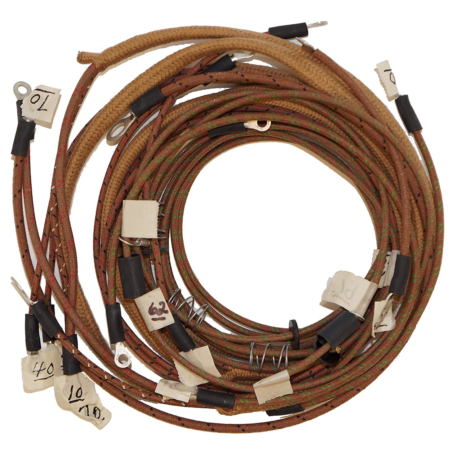 allis chalmers wd wiring harness amazon com djs tractor parts complete wiring harness 6v rc  wc  complete wiring harness 6v rc
