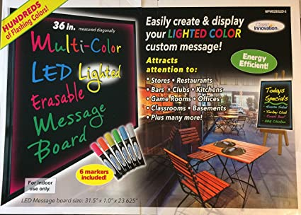 Amazon com : Clear Innovation Multi-Color LED Lighted