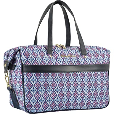 ... Tommy Bahama Large Overnight Travel Bag Weekend Duffel, PinkBlue, One  Size super popular 4a4dd  Waterresistant Hanging Travel Toiletry ... 7a0f80e5c4
