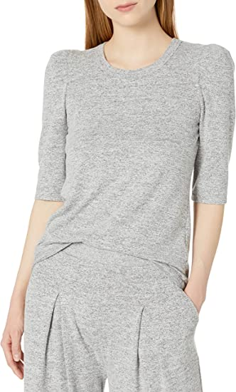 Daily Ritual Womens Standard Cozy Knit Pleated Lounge Pant