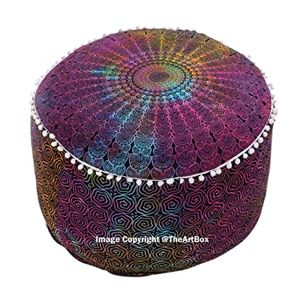 Strange Amazon Com The Art Box Indian Tie Dye Mandala Cotton Gamerscity Chair Design For Home Gamerscityorg