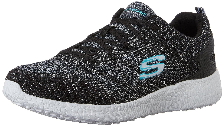 Skechers Sport Women's Burst Fashion Sneaker B0113O7CJI 6 B(M) US|Black/White