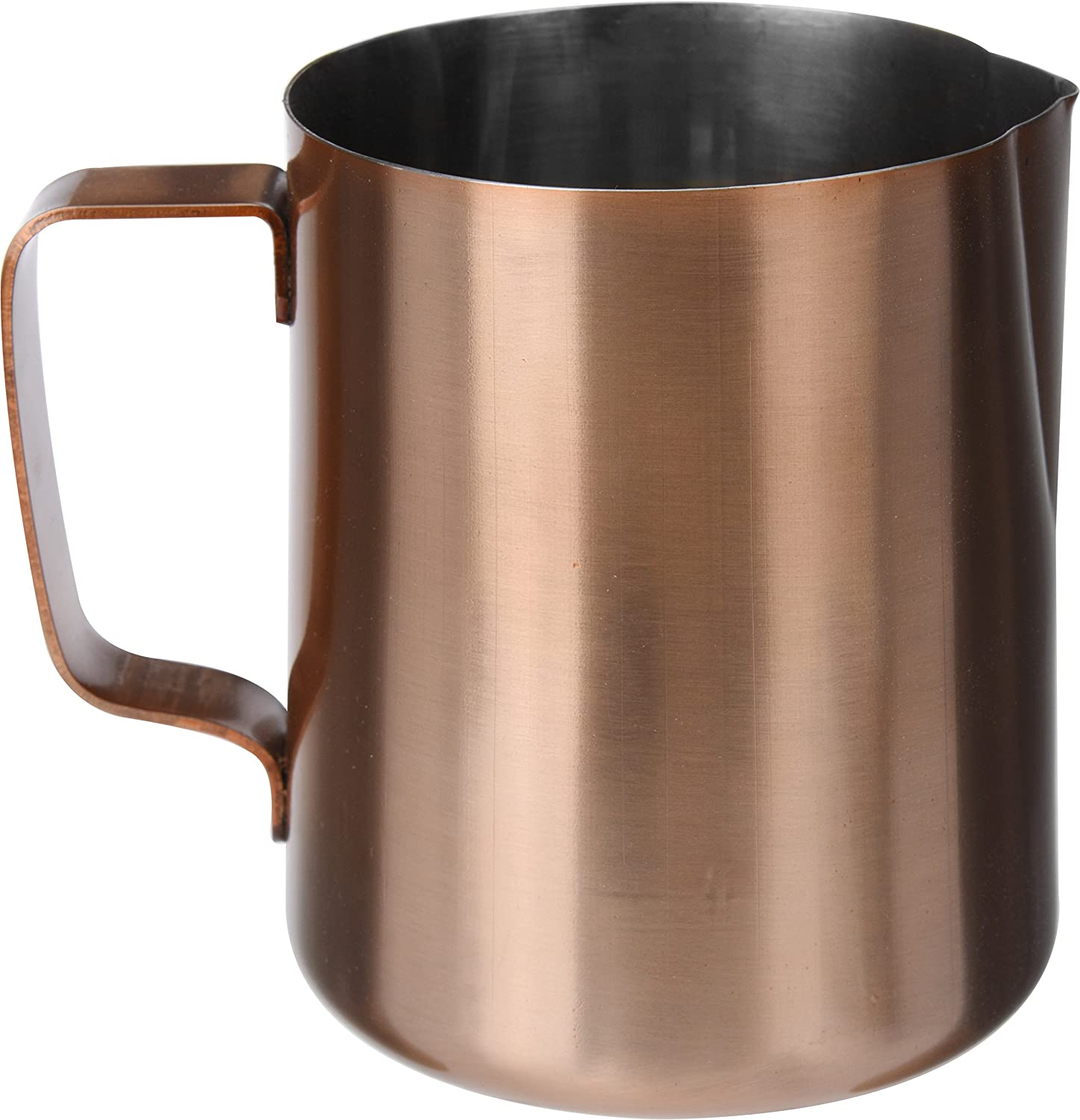 500ml Cappuccino Latte Milk Frothing Jug Pitcher Copper Finish