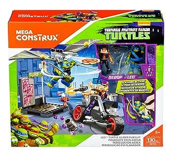 Mega construx Tortugas Ninja – dxy15 – Poursuite en Planeador