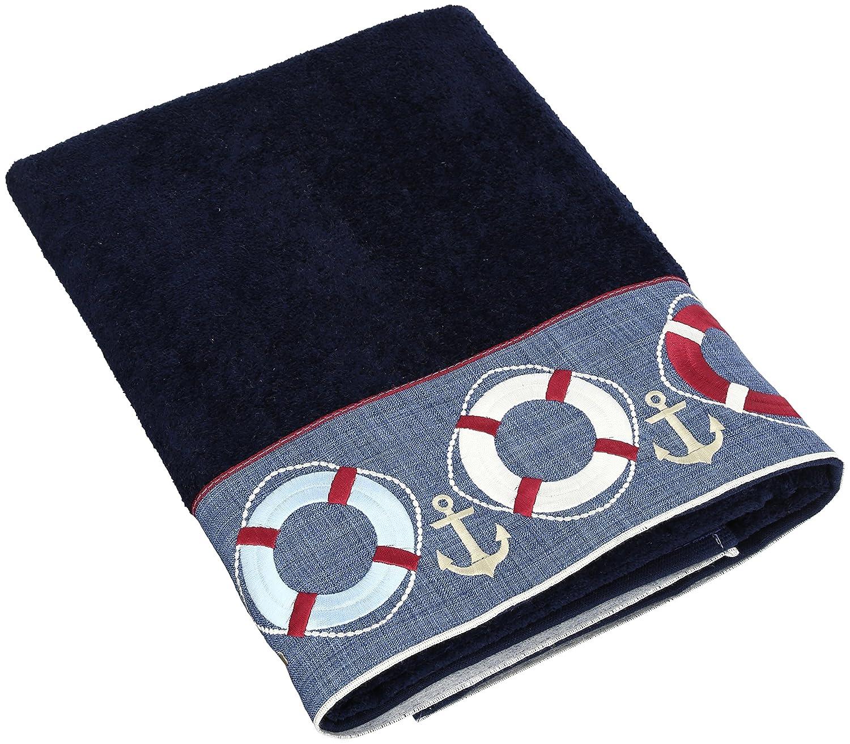 Exceptionnel Amazon.com: Avanti Linens Life Preservers Bath Towel, Indigo: Home U0026 Kitchen