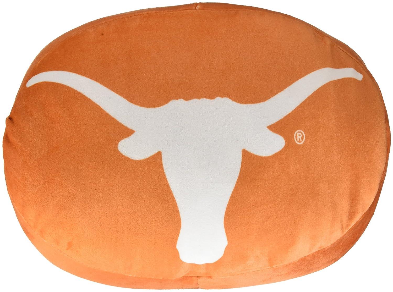 One Size NCAA Texas Cloud Logo Pillow Multicolor