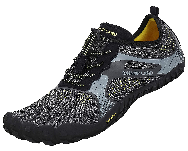 katliu Chaussures de Trail Running Homme Femme Chaussures Minimalistes Chaussures de Sport...