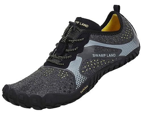 katliu Barefoot Zapatillas de Trail Running Minimalistas Zapatillas de Deporte Exterior Interior Zapatos de Deportes Acuaticos,Unisex-Adulto: Amazon.es: ...
