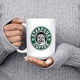 Starpugs Coffee Mug for Pug Dog Lovers - 15oz