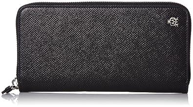 3adc7193e300 Amazon | [ダンヒル] ラウンドファスナー長財布 【CADGAN】 並行輸入品 L2X218A BLACK [並行輸入品] | 財布