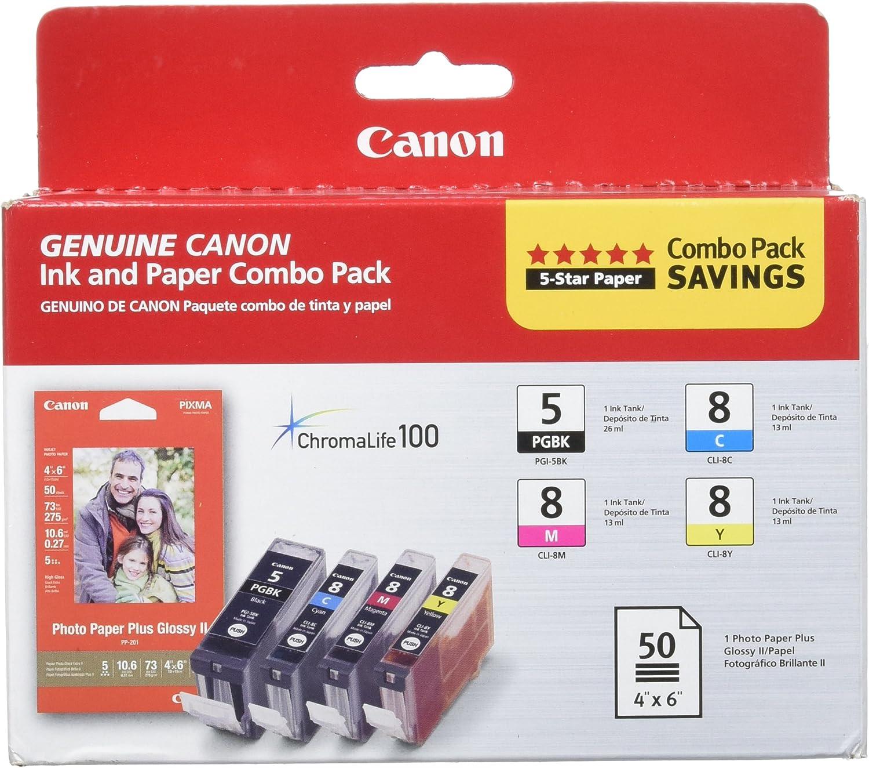 Refresh Cartridges PGI5//CLI8 Sets Tinte Kompatibel Mit Canon Drucker
