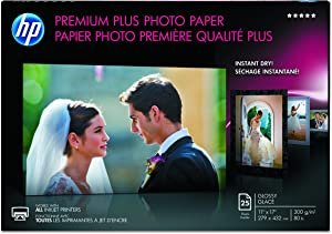 HP Q5495A Premium Plus Photo Glossy Paper