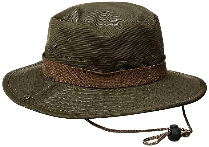 d4d3d95a4e3 Amazon.com  Brixton Men s Ration Medium Brim Bucket Hat  Clothing