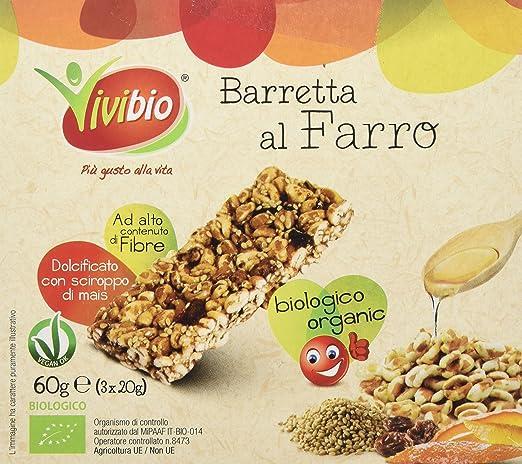 5 opinioni per Vivibio Barretta al Farro Bio- 60 gr