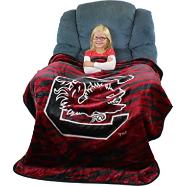 College Covers Throw Blanket, 50  x 60 , South Carolina Gamecocks
