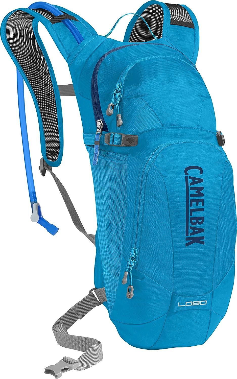 CamelBak Lobo - Mochila de hidratación, Azul, 3 litros, Azul (Atomic Blue/ Pitch Blue): Amazon.es: Deportes y aire libre