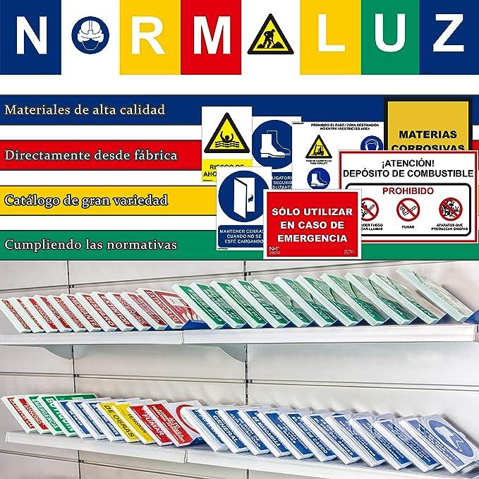 Normaluz RD40002 RD40002-Señal Prohibido El Paso PVC ...