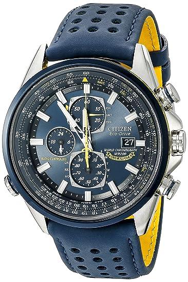 "1648a4bf700 Citizen AT8020-03L""Blue Angels World A-T"" Reloj Eco-Drive,"