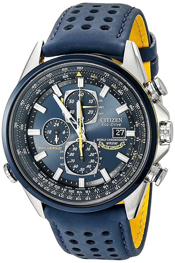 "Citizen Men's AT8020-03L ""Blue Angels World A-T"" Eco-Drive Watch Review"